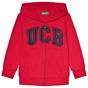 Image of United Colors of Benetton Jacket With Hood Red 2Y (18-24 mdr) (3000208779)