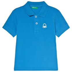 United Colors of Benetton Polo Shirt Bright Blue