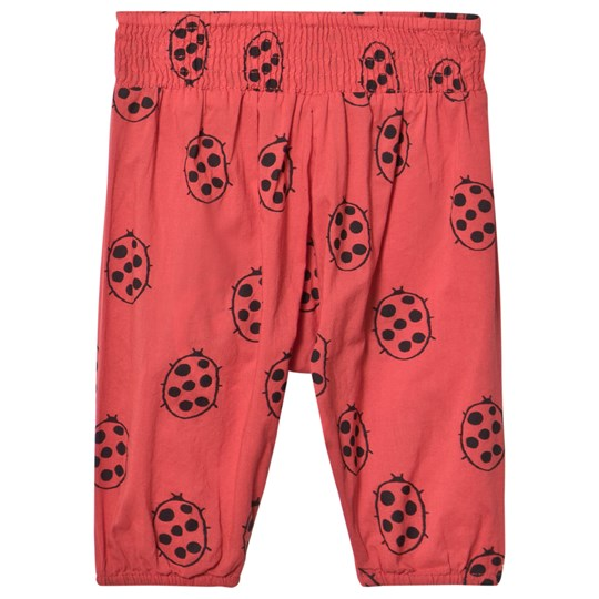 nadadelazos Pant Lady Beatle In Red Red Lady Beatle