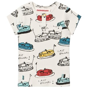 Image of nadadelazos Buttoned Bumper Car T-Shirt 12-18 mdr (3000208511)