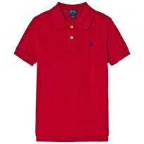 Ralph Lauren Red Pique Polo with PP 007