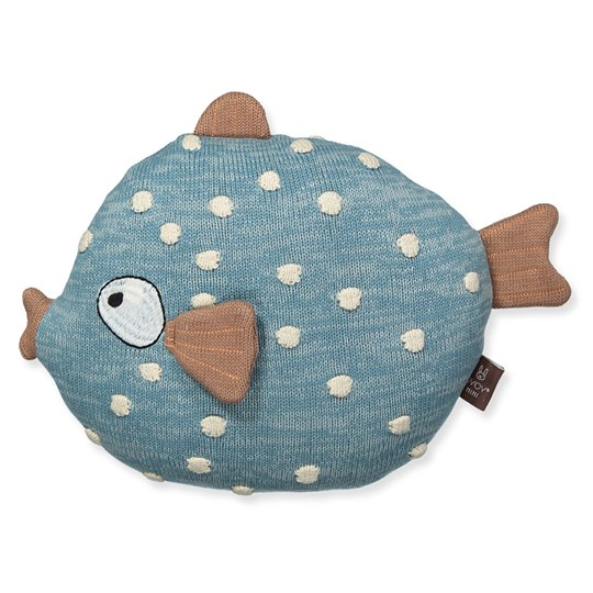 OYOY Little Finn Cushion Blue
