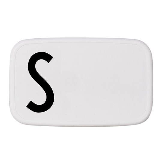 Design Letters Personal Lunch Box S White