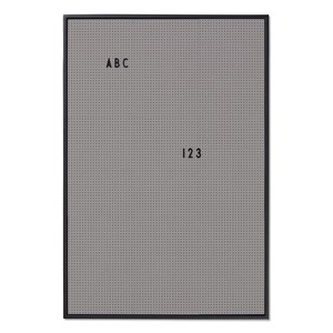 Image of Design Letters Message Board A2 Grey (2976070313)