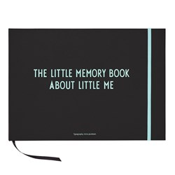 Design Letters The Little Memory Book About Little Me Blue
