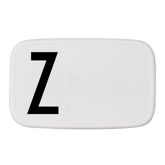 Design Letters Personal Lunch Box Z White