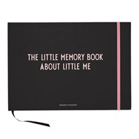 Design Letters The Little Memory Book About Little Me Pink Pink