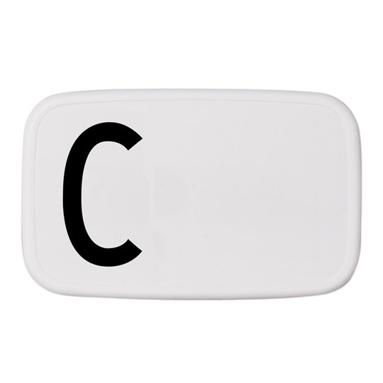 Design Letters Personal Lunch Box C White