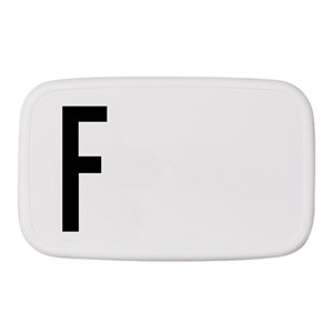 Image of Design Letters Personal Lunch Box F (2743758169)