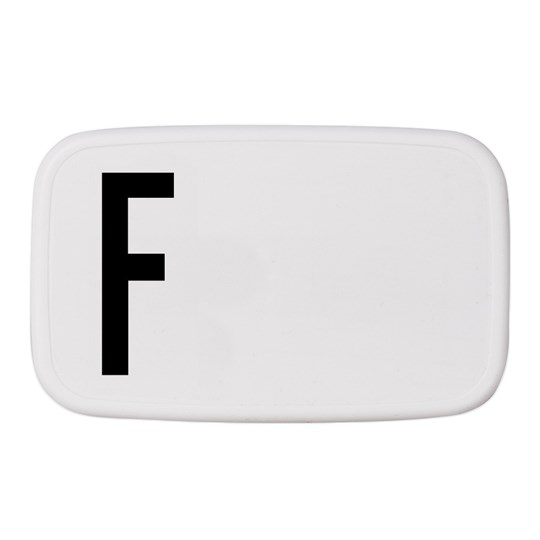Design Letters Personal Lunch Box F White