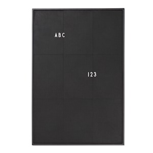 Image of Design Letters Message Board A2 Black (2882746369)