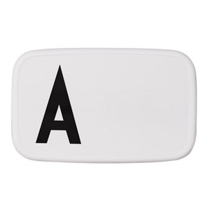 Image of Design Letters Personal Lunch Box A (3065504937)