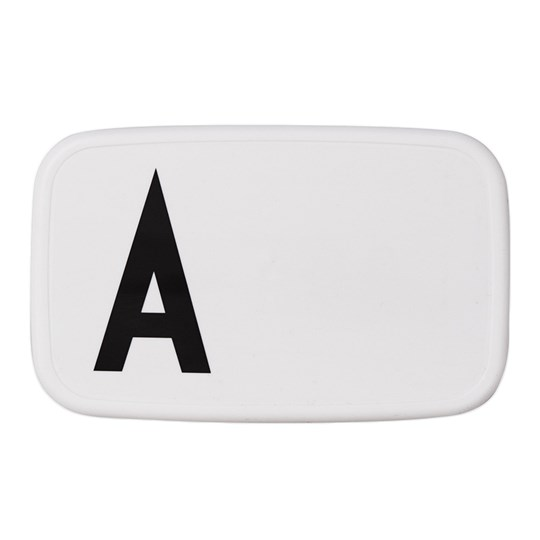 Design Letters Personal Lunch Box A White