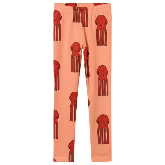 Hugo Loves Tiki Octopus Leggings Red Red w/Red Octopus Graphic AOP