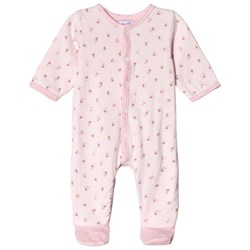 Absorba Pink Floral Footed Baby Body
