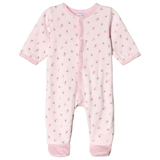 Absorba Pink Floral Footed Baby Body 30