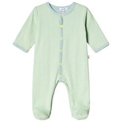 Absorba Green Stripe Footed Baby Body