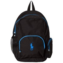 Ralph Lauren Nylon Logo Backpack Black Black