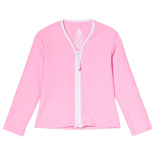 Platypus Australia Lolly Zip Through Rash Vest Pink