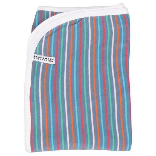 Geggamoja Blanket Multi Stripe Multi