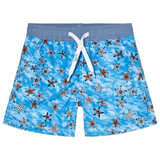 Platypus Australia Starfish Swim Shorts Blue