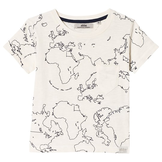 ebbe Kids Zeven Tee Maps Maps allover