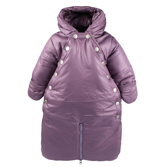 Mini A Ture Xina Romper Violet Purple