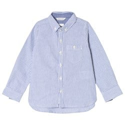 ebbe Kids Frazer Oxford Shirt Blue Stripe
