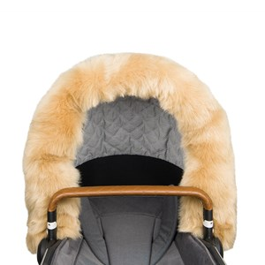 Image of Bjällra of Sweden Fur Collar Beige (3001100561)
