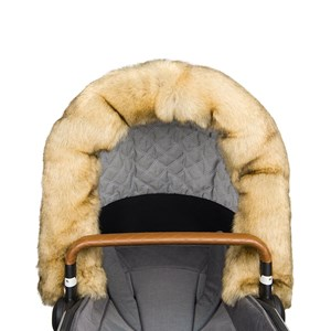 Image of Bjällra of Sweden Faux Fur Collar for Hood Nature One Size (982815)