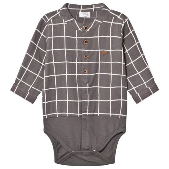 Hust&Claire Shirt Baby Body Brown Shadow