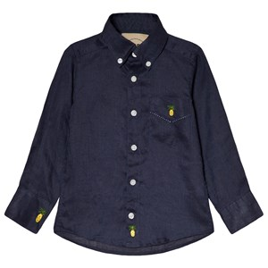 Image of OAS Marine Pineapple Linen Shirt 10 år (3001100813)