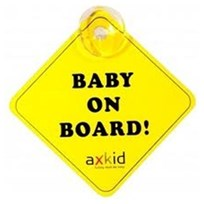 Axkid Skylt, Baby on Board Multi