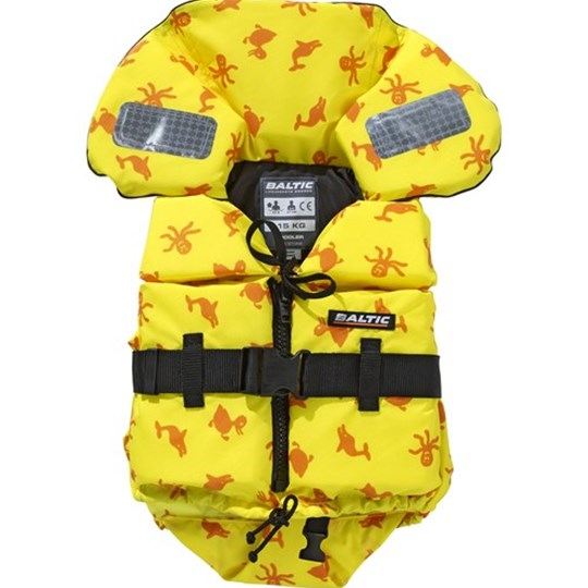 Baltic Print 1255 Life Vest Yellow Yellow