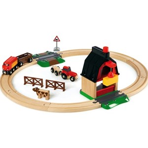 Image of BRIO BRIO® World – 33719 Farm Railway Set 3 - 6 år (844919)