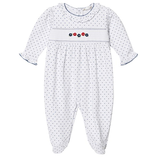 Kissy Kissy Dainty Daisy Print and Embroidered Sparkdräkt Vit WH