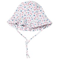 Kissy Kissy Cherry and Floral Print Sun Hat WH