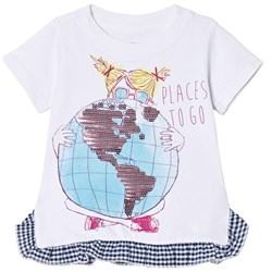 Andy & Evan Places to Go T-shirt White