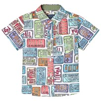Andy & Evan License Plate Print Shirt Multicoloured RDY
