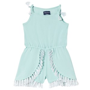 Image of Andy & Evan Tassel Romper Mint 6 years (3001924469)