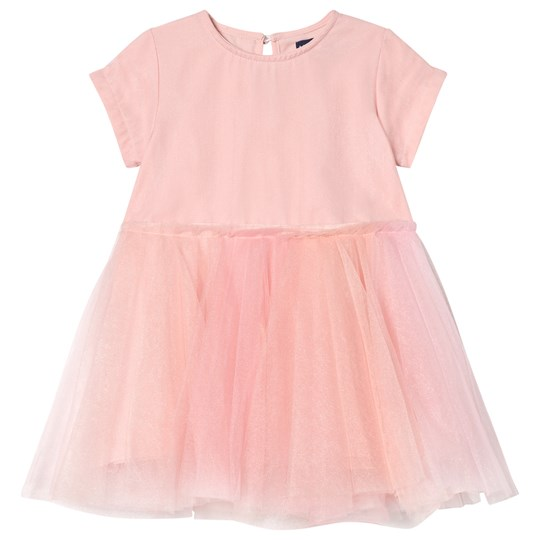 Andy & Evan Mesh Dress Pink PKX