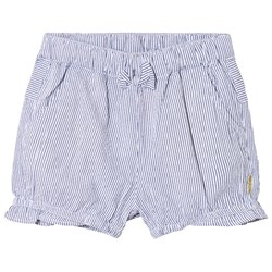 Hust&Claire Striped Shorts Blue