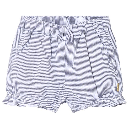 Hust&Claire Striped Shorts Blue Blue indie
