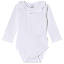 Hust&Claire Frill Baby Body White