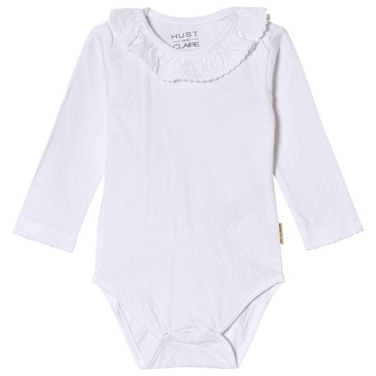 Hust&Claire Frill Baby Body White White