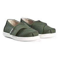 Toms Pine Canvas Tiny TOMS Classics Green