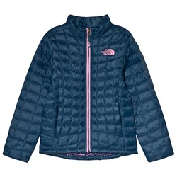 The North Face Navy Thermoball Padded Jacket