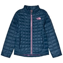 The North Face Navy Thermoball Padded Jacket 1PQ