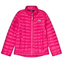 The North Face Pink Thermoball Padded Jacket