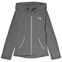 The North Face Grey Mezzaluna Full Zip Hoodie V3T